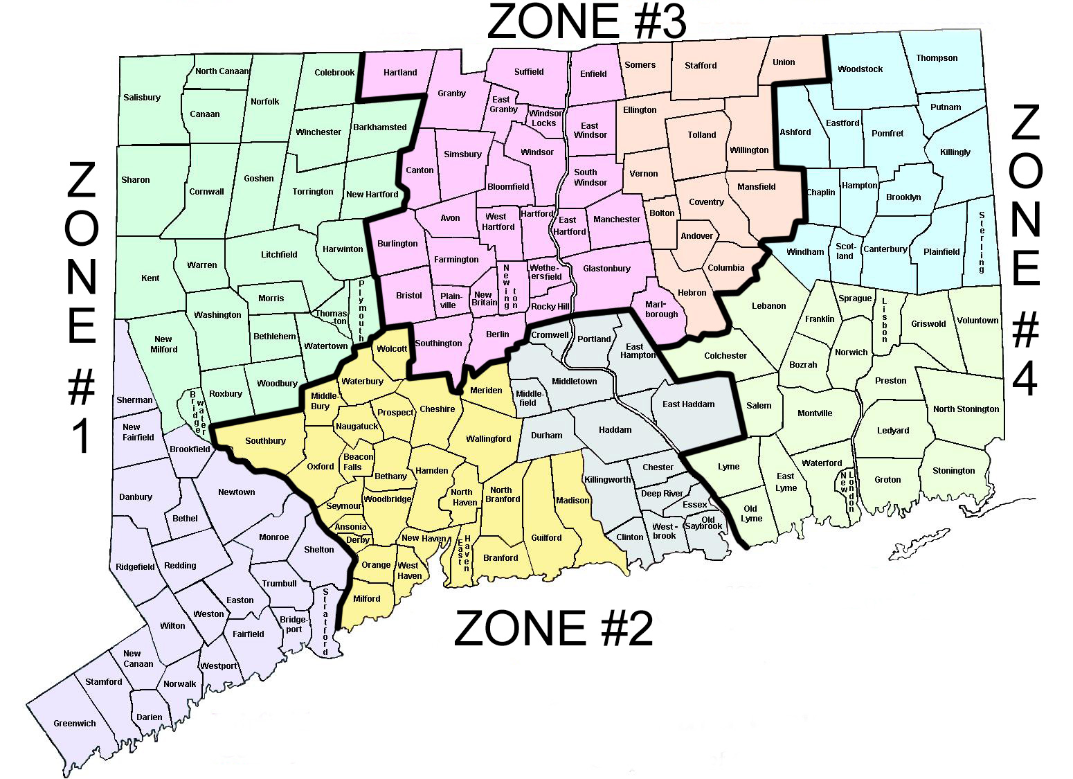 CT - Counties